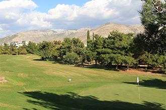 ギリシャのゴルフ場